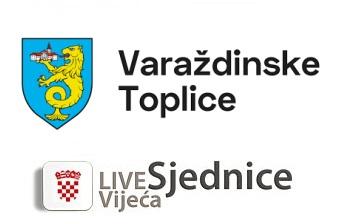 Grad Varaždinske Toplice, Sjednica Gradskog vijeća